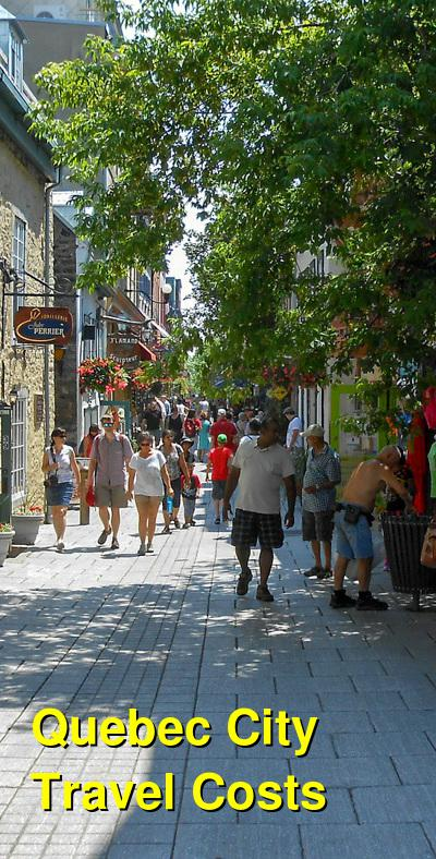 Quebec City Travel Cost - Average Price of a Vacation to Quebec City: Food & Meal Budget, Daily & Weekly Expenses | BudgetYourTrip.com