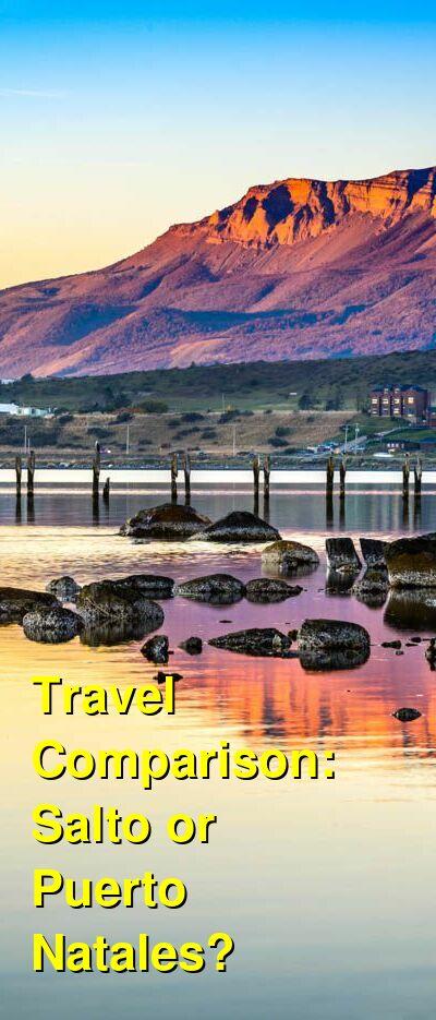 Salto vs. Puerto Natales Travel Comparison