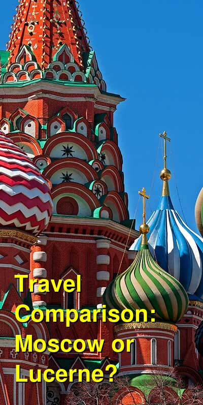 Moscow vs. Lucerne Travel Comparison