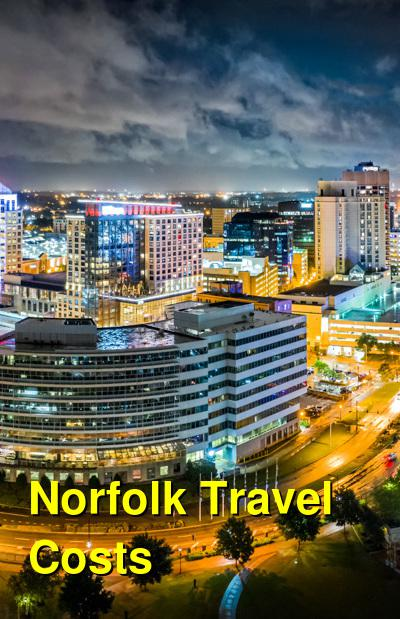 Norfolk Travel Cost - Average Price of a Vacation to Norfolk: Food & Meal Budget, Daily & Weekly Expenses | BudgetYourTrip.com
