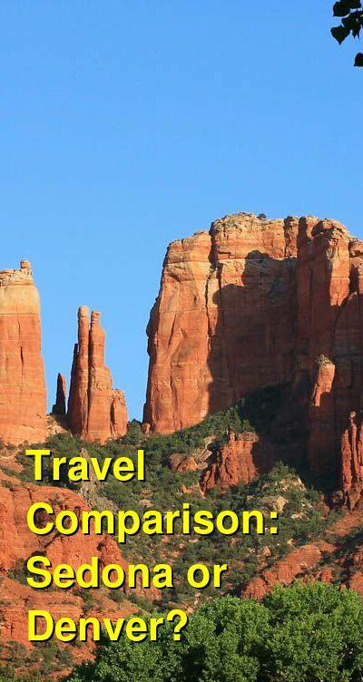 Sedona vs. Denver Travel Comparison