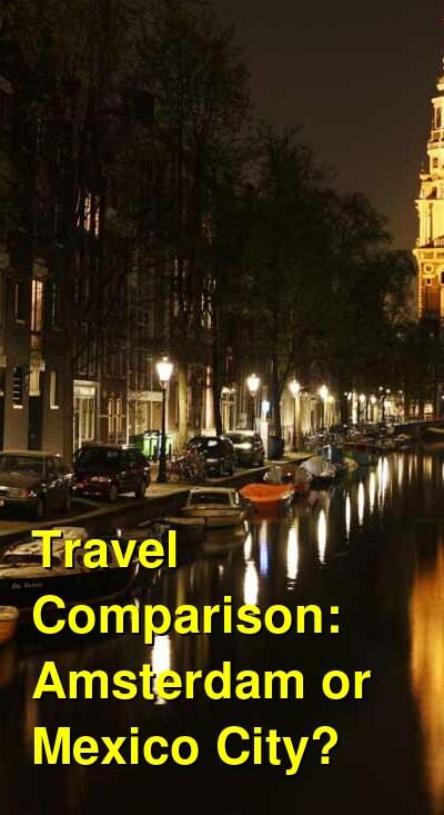 Amsterdam vs. Mexico City Travel Comparison