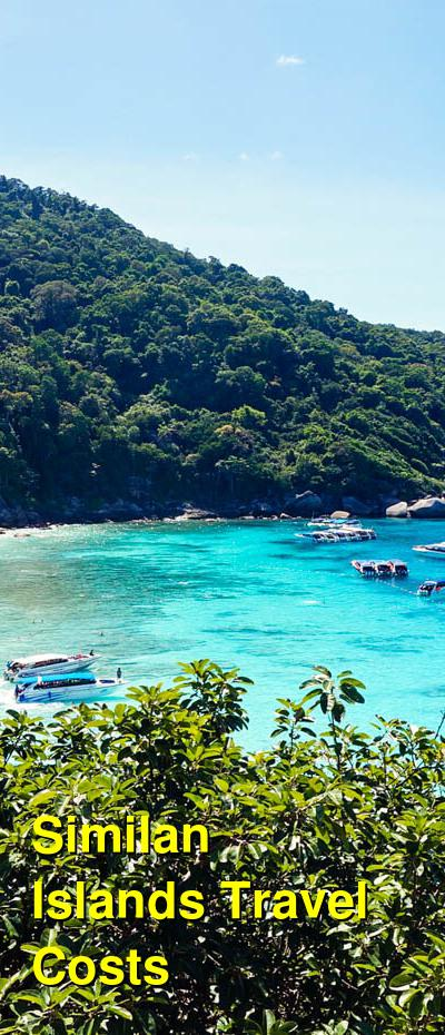 Similan Islands Travel Cost - Average Price of a Vacation to Similan Islands: Food & Meal Budget, Daily & Weekly Expenses | BudgetYourTrip.com