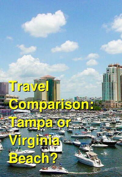 Tampa vs. Virginia Beach Travel Comparison