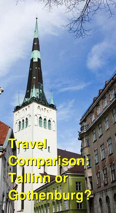 Tallinn vs. Gothenburg Travel Comparison