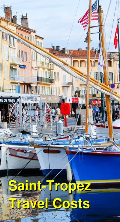 Saint-Tropez Travel Cost - Average Price of a Vacation to Saint-Tropez: Food & Meal Budget, Daily & Weekly Expenses | BudgetYourTrip.com