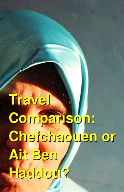 Chefchaouen vs. Ait Ben Haddou Travel Comparison