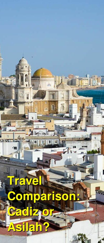 Cadiz vs. Asilah Travel Comparison