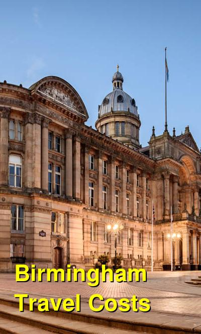 Birmingham Travel Cost - Average Price of a Vacation to Birmingham: Food & Meal Budget, Daily & Weekly Expenses | BudgetYourTrip.com