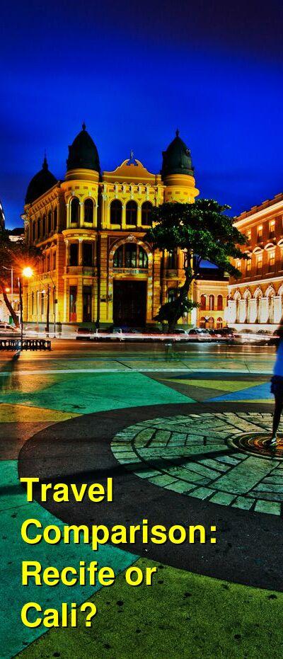 Recife vs. Cali Travel Comparison