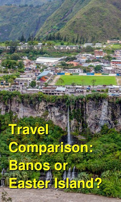 Banos vs. Easter Island Travel Comparison
