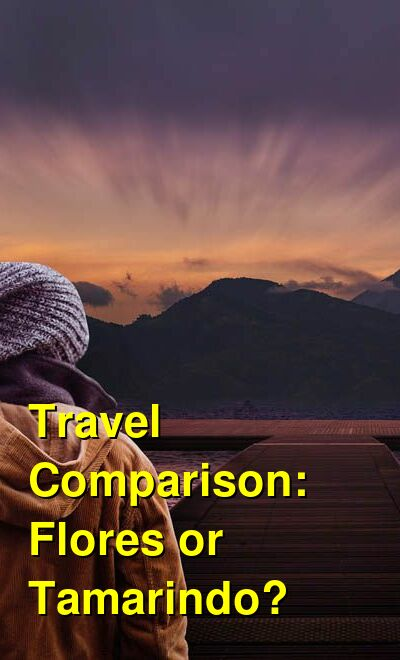 Flores vs. Tamarindo Travel Comparison