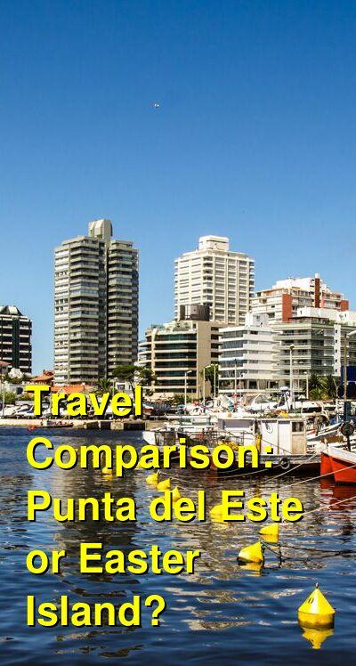Punta del Este vs. Easter Island Travel Comparison