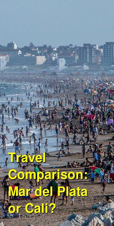 Mar del Plata vs. Cali Travel Comparison