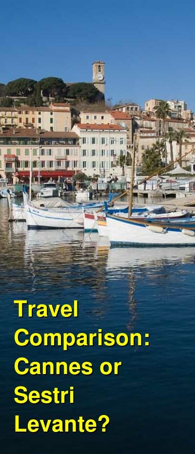 Cannes vs. Sestri Levante Travel Comparison