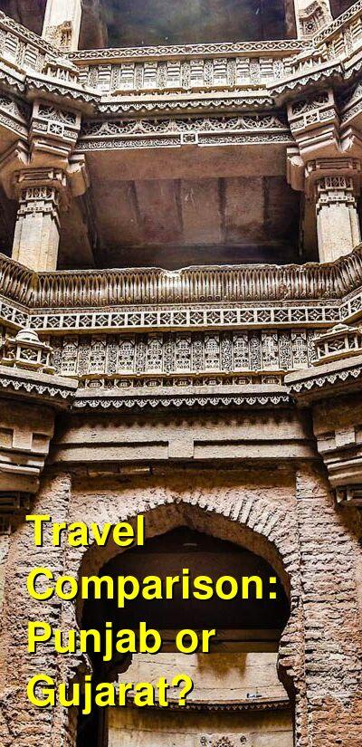 Punjab vs. Gujarat Travel Comparison