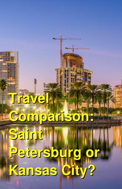 Saint Petersburg vs. Kansas City Travel Comparison
