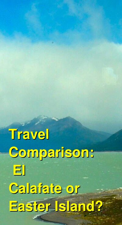 El Calafate vs. Easter Island Travel Comparison