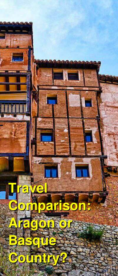 Aragon vs. Basque Country Travel Comparison