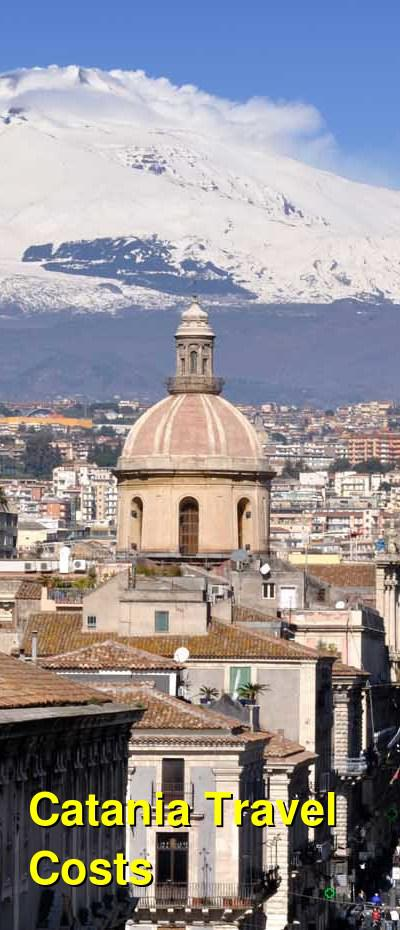 Catania Travel Cost - Average Price of a Vacation to Catania: Food & Meal Budget, Daily & Weekly Expenses | BudgetYourTrip.com