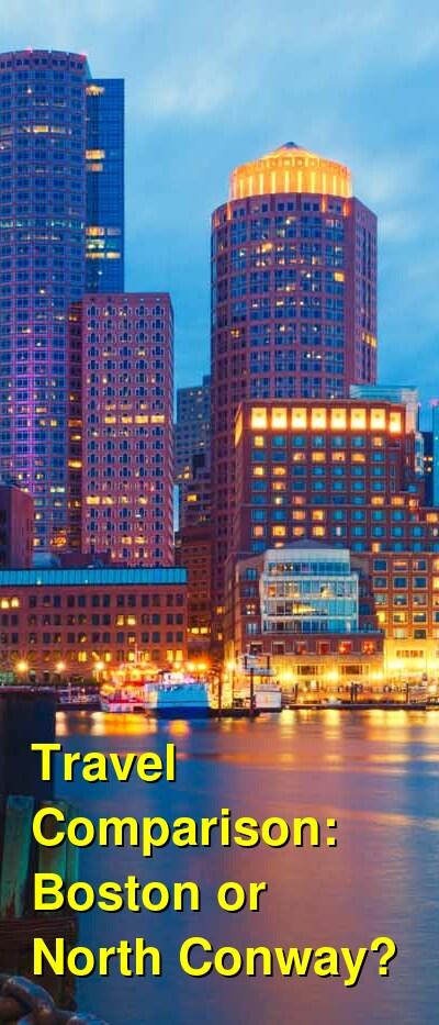 Boston vs. North Conway Travel Comparison