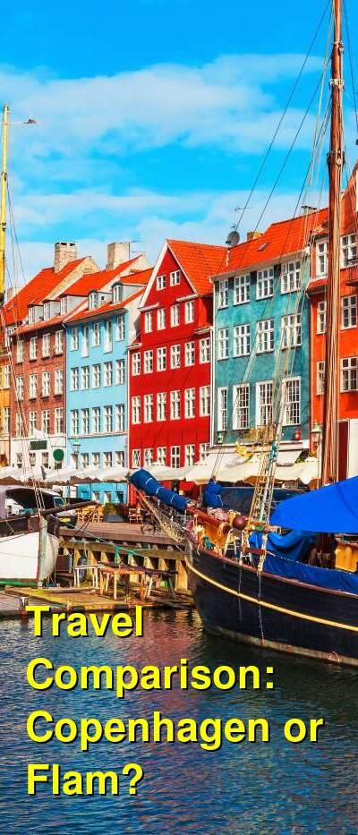Copenhagen vs. Flam Travel Comparison