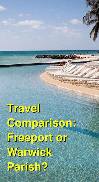 Freeport vs. Warwick Parish Travel Comparison