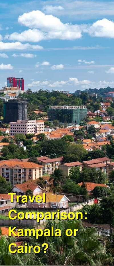 Kampala vs. Cairo Travel Comparison