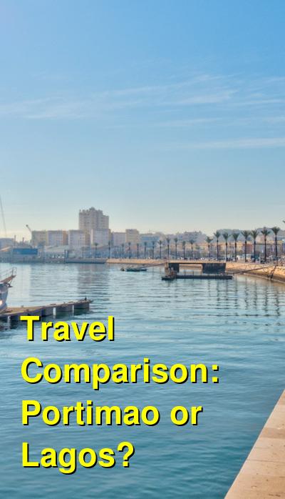 Portimao vs. Lagos Travel Comparison