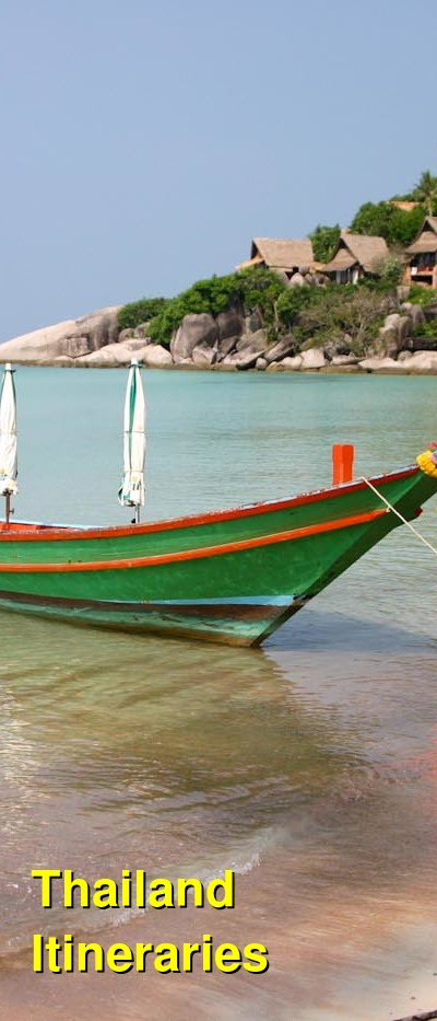 Thailand Suggested Itineraries | BudgetYourTrip.com