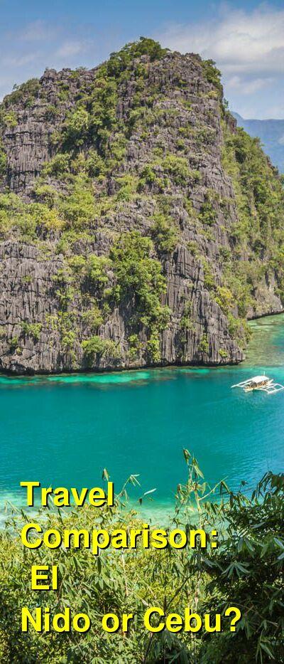 El Nido vs. Cebu Travel Comparison