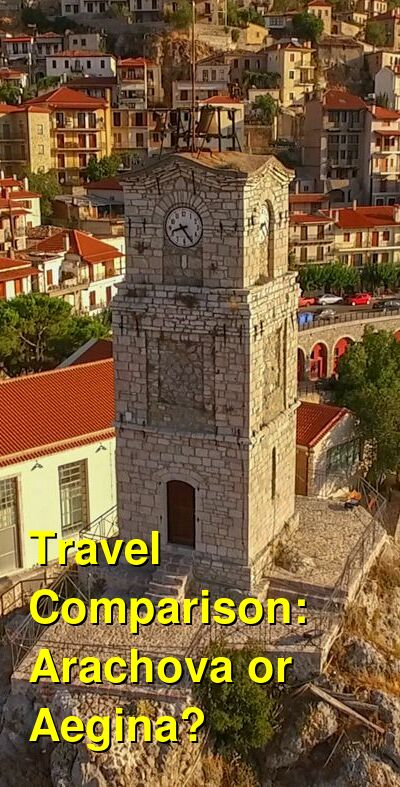 Arachova vs. Aegina Travel Comparison