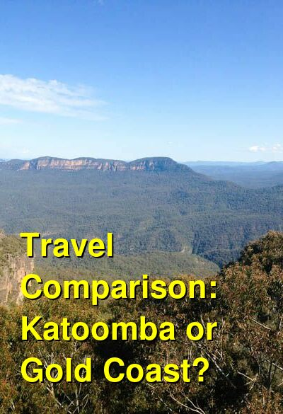 Katoomba vs. Gold Coast Travel Comparison