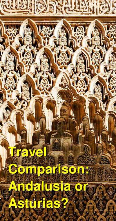Andalusia vs. Asturias Travel Comparison