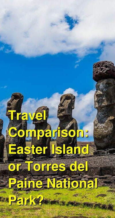 Easter Island vs. Torres del Paine National Park Travel Comparison