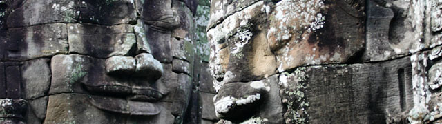 Faces of the Bayon, Angkor Wat, Cambodia